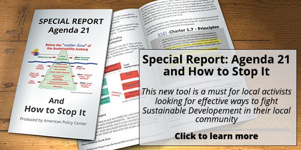 Special Report: Agenda 21